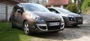 Essai Renault Scénic dCi 110 FAP contre Peugeot 3008 HDi 110 FAP