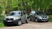 Essai Dacia Duster 1.5 dCi 85 ch vs Suzuki SX4 1.6 DDiS 90 ch : Low Cost mais pas trop !