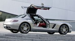 Essai Mercedes SLS AMG : Butterfly is back