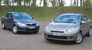 Essai Renault Fluence 1.5 dCi 105 ch vs Skoda Octavia 1.6 TDI 105 ch : Le Soleil se lève à l'Est