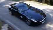Essai Mercedes SLS : Magie noire
