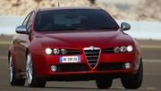 Alfa Brera, Spider et 159 : simplification de la gamme des motorisations
