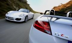 Essai Porsche Boxster Spyder vs Audi TT RS Roadster : La saison du plaisir