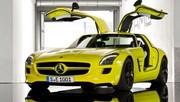 Mercedes SLS AMG E-Cell : Anti rétro