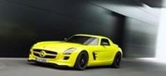 526 chevaux pour la version électrique de la Mercedes SLS AMG