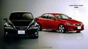 Lexus IS : 1ères photos du second restylage