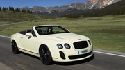 Bentley Continental Supersports : les photos du cabriolet !