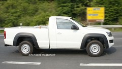 Volkswagen Amarok Single Cab : Du double au simple