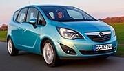 Opel Meriva ecoFLEX : 119 g/km de CO2