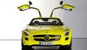 Mercedes SLS AMG E-Cell, réponse musclée à l'Audi E-Tron