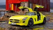 Mercedes SLS AMG E-Cell, l'électrique pour rêver... Quelques années encore