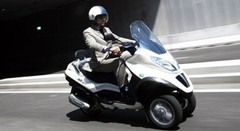 Piaggio muscle son MP3 hybride