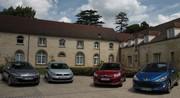 La nouvelle Citroën C4 se confronte à ses principales concurrentes