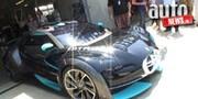 Le Mans Classic : la Citroën Survolt en piste avec Vanina Ickx
