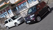 Essai Nissan Cube 1.6 110 ch vs Daihatsu Materia 1.5 103 ch : Deux ovnis assez surprenants