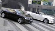 Essai Audi A5 Cabriolet 2.7 TDI vs Mercedes E 250 CDI Cabriolet : Toiles de maître