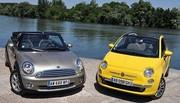 Essai Fiat 500C 1.4 100 ch vs Mini Cabriolet One 1.6 98 ch