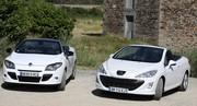 Essai Renault Mégane CC contre Peugeot 308 CC : le match de l'été