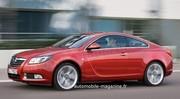 Opel Insignia Coupé : Sur liste d'attente