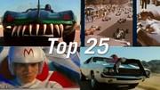 Le Top 25 des films qui n'ont que l'automobile pour seul intérêt !