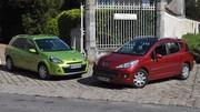Essai Peugeot 207 SW 1.6 HDi 92 ch vs Renault Clio 3 Estate 1.5 dCi 85 ch