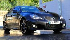 Essai Lexus... soumis à l'IS-F !