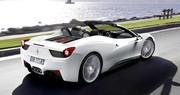 Ferrari F458 Italia Spider : Un avant-goût du Paradis