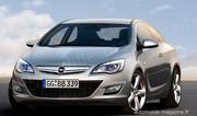 Opel GTC Paris : Secret éventé