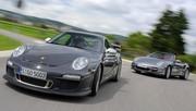 Essai Porsche 911 GT3 RS vs Porsche 911 Turbo S Cabriolet : Remède de cheval