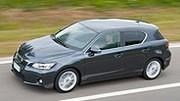 Lexus CT200h: le meilleur ne serait pas l'hybride