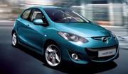 Mazda 2 : facelift