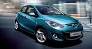 Mazda2 restylée en première européenne