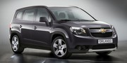 Chevrolet Orlando : crossover familial