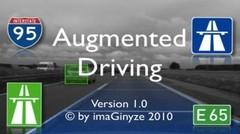 Augmented Driving : une assistance à la conduite sur iPhone