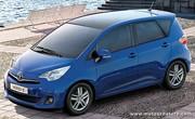 Verso S, Toyota revient au petit monospace