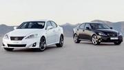 Lexus IS : Un nouveau diesel et quelques menus changements