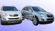 Opel Antara restylé : premières photos