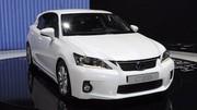 Lexus CT 200h : 96 g/km de CO2 pour la future compacte hybride