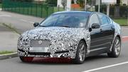 Jaguar XF restylée : Premières photos