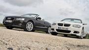 Essai Cabriolets Audi A5 2.7 TDI 193 ch vs BMW Série 3 325d 204 ch : Cabriolets de choc... ou de charme ?