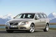 Hybrides rechargeables : un break Volvo V70 Diesel et électrique en 2012