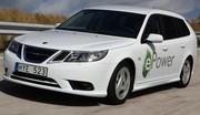 Saab : une 9-3 ePower au Mondial de Paris
