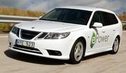 Electriques : flotte d'essai de 70 Saab 9-3 ePower 100% électriques