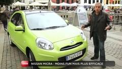 Emission Turbo : Nissan Micra, Citroën C-Zero, VW Cox