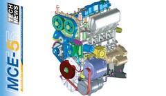 MCE-5 : présentation d'un prototype avec moteur à taux de compression variable