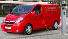 Opel Vivaro e-Concept : Opel électrique