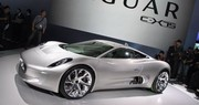 Jaguar C-X75 : coupé hybride high-tech