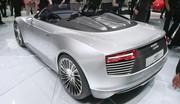 Audi e-tron Spyder : Super mazout qui décoiffe !