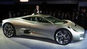 Jaguar C-X75 : ses 780 ch sont électriques