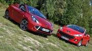 Essai Peugeot 207 CC 1.6 VTi 120 ch vs Renault Wind 1.6 16V 133 ch : Les filles de l'air